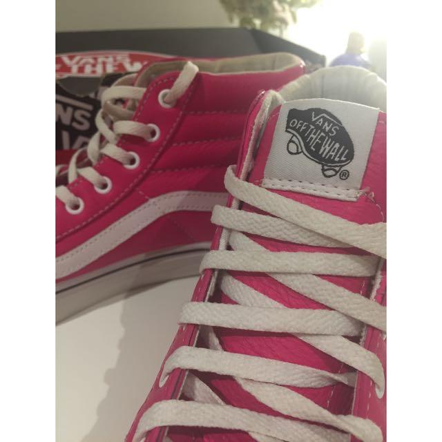 Pink High Top Vans