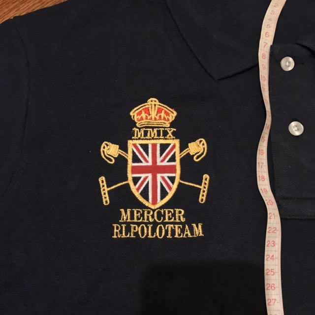 Big Shirt Team Polo Mercer Pony3 Lauren Collar Ralph In Rl n80wOPk