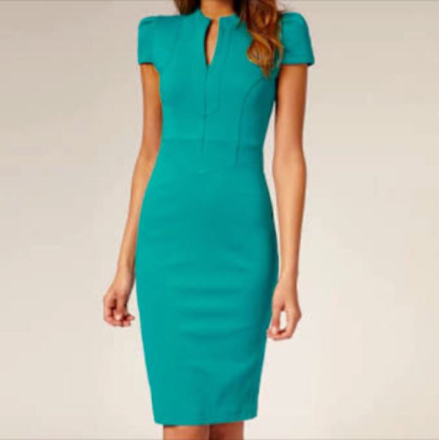 Ponti Pencil Dress UK 8