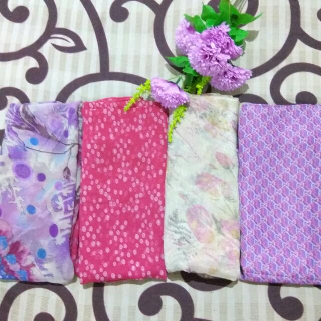 (Preloved) Aneka Pashmina