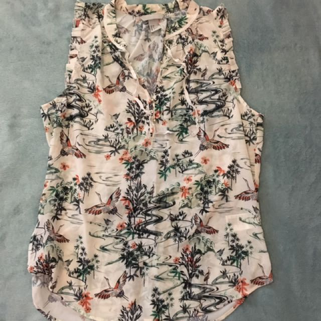 Pre-loved H&M Floral Blouse