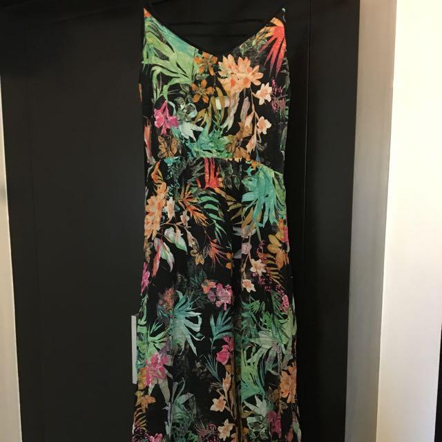 Pre-loved Pimkie Maxi Floral Dress