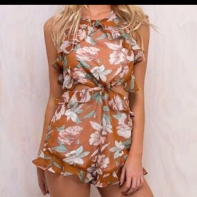 Princess Polly Floral Playsuit