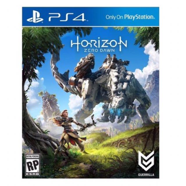 (全新)PS4 地平線:期待黎明 中文版