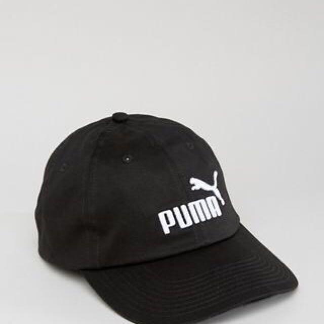 Puma 老帽 黑 白 藍