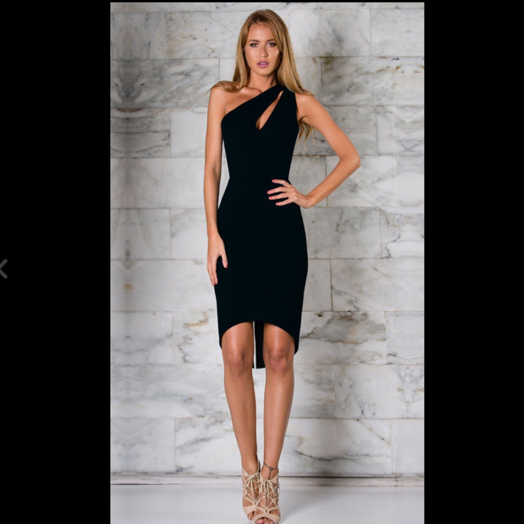 Runaway the Label black dress