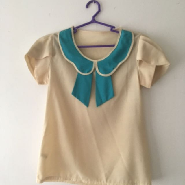 Sailor Mercury Inspired Blouse