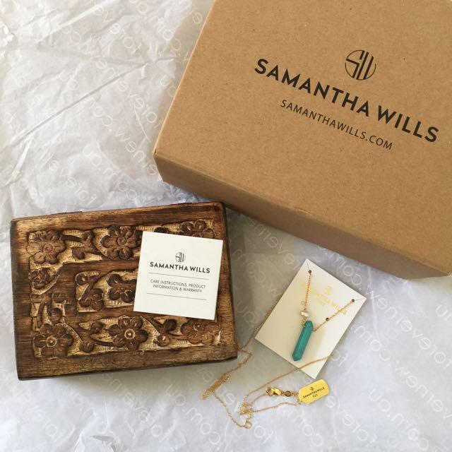 Samantha Will | Wild Magnolia Necklace - Turquoise