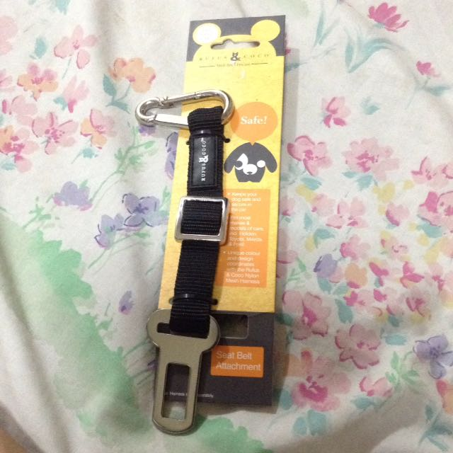 Seat Belt Attachment For Dogs