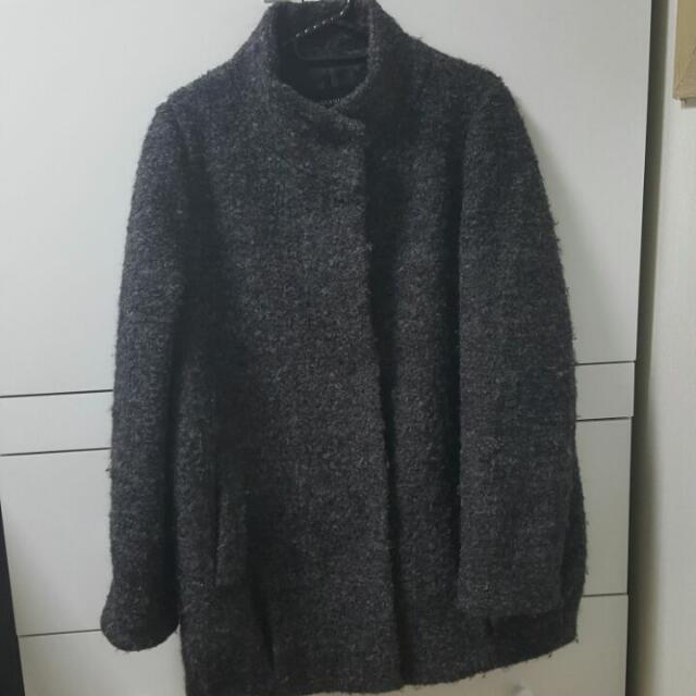 SHESMISS Semi Long Coat