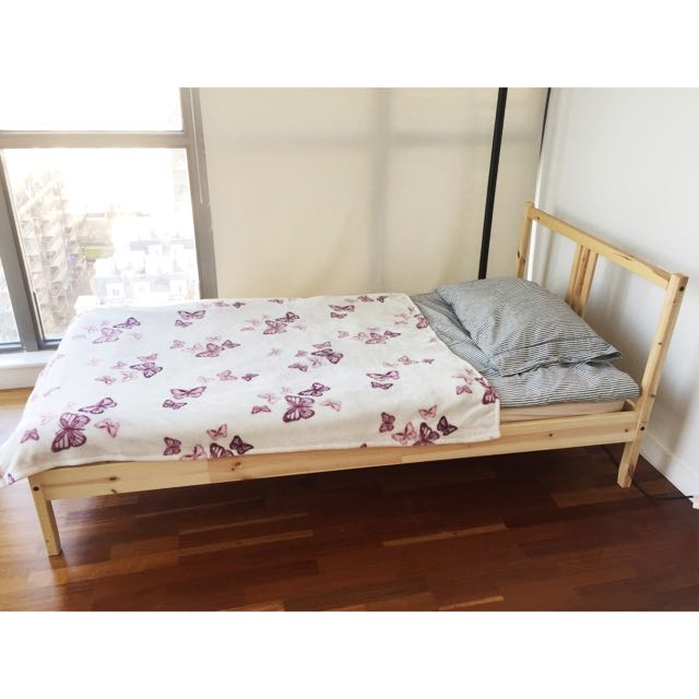 SingleBed, Mattress&Bedding