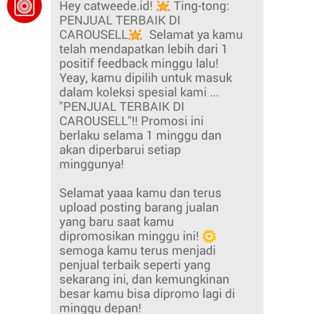 Thank you Carousell, Thank you customers 🎉🙌
