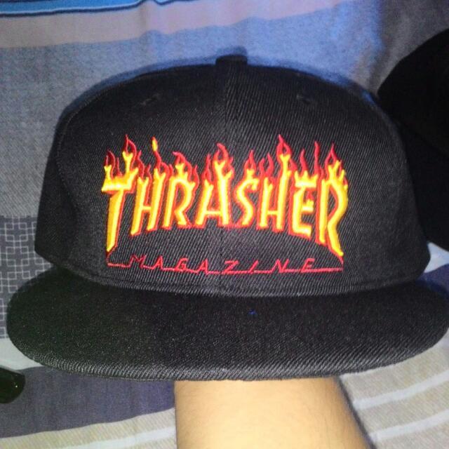 Thrasher Snapback Hat