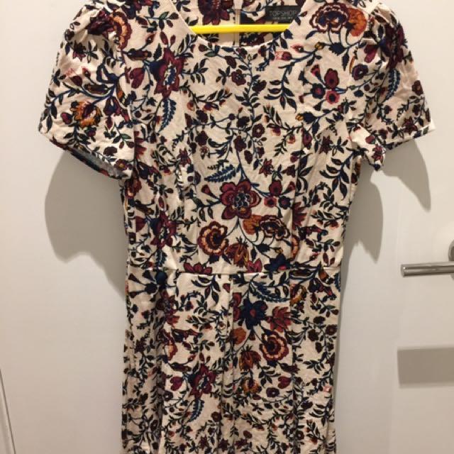 Topshop Vintage Dress