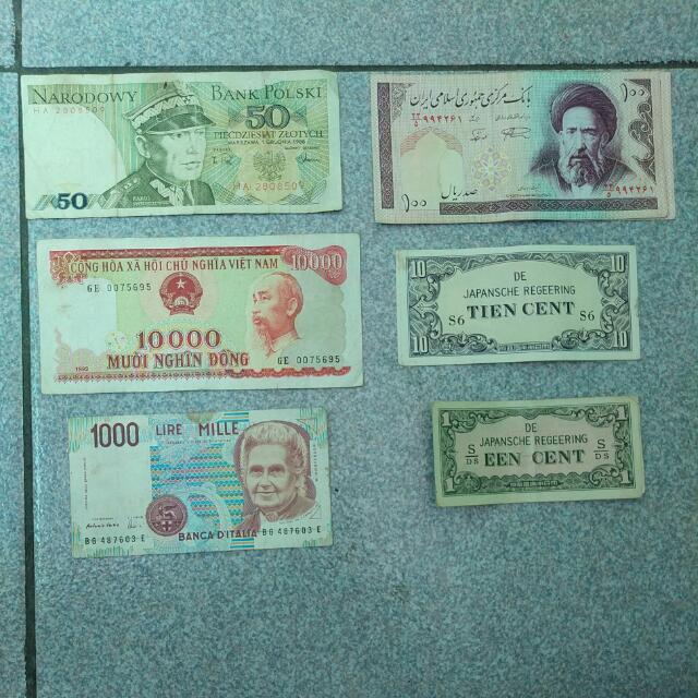 Uang Jadul LUAR