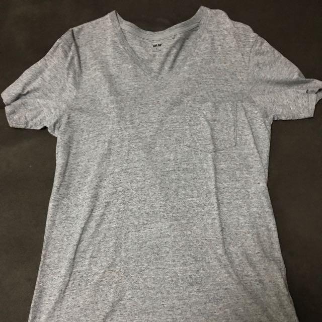 Uniqlo V-neck Pocket Shirt