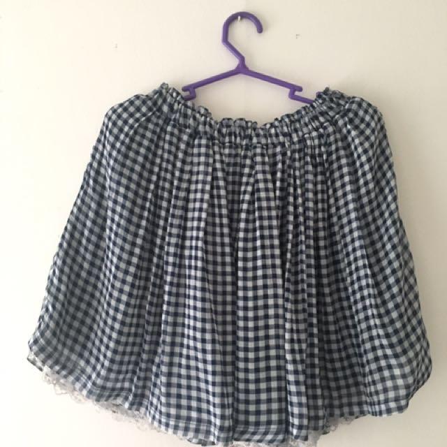 Upsidedown Skirt