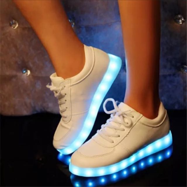 USB Charging glowing led sneakers for Boy&Girl Casual Kids Light Up shoes infant 7 color led slippers Luminous Sneakers