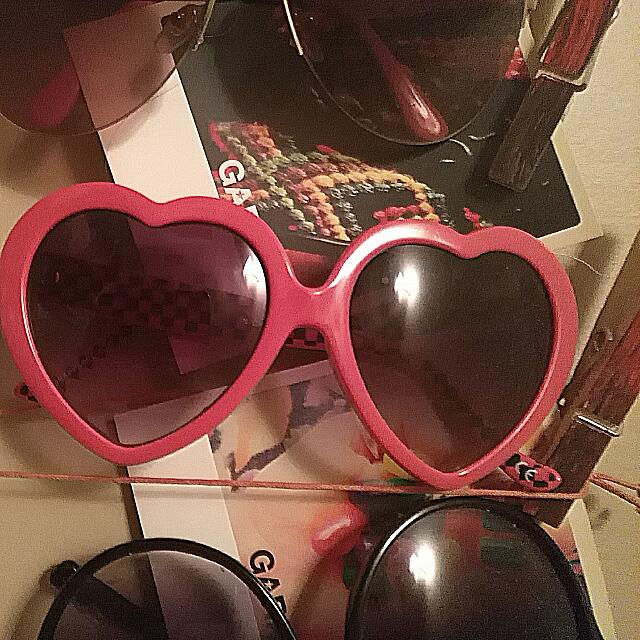 Vans Heart Shaped Sunglasses