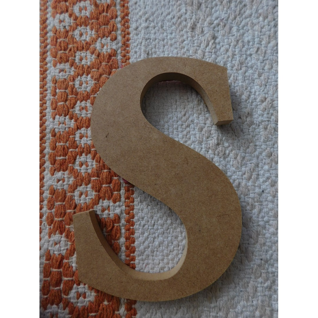 Various Wood Letters