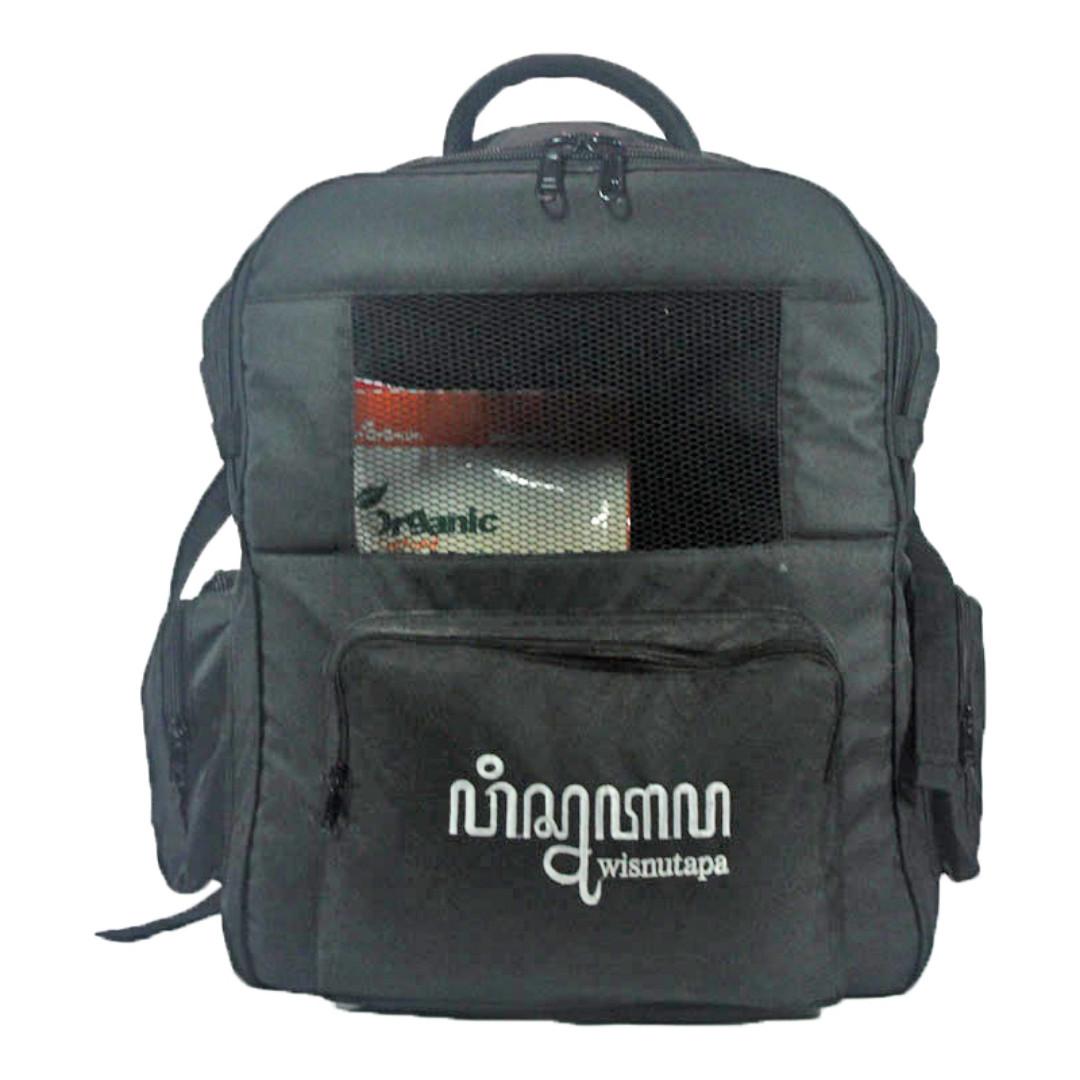 Wisnutapa Backpet Tas Travel Bag Pet Carrier Kucing