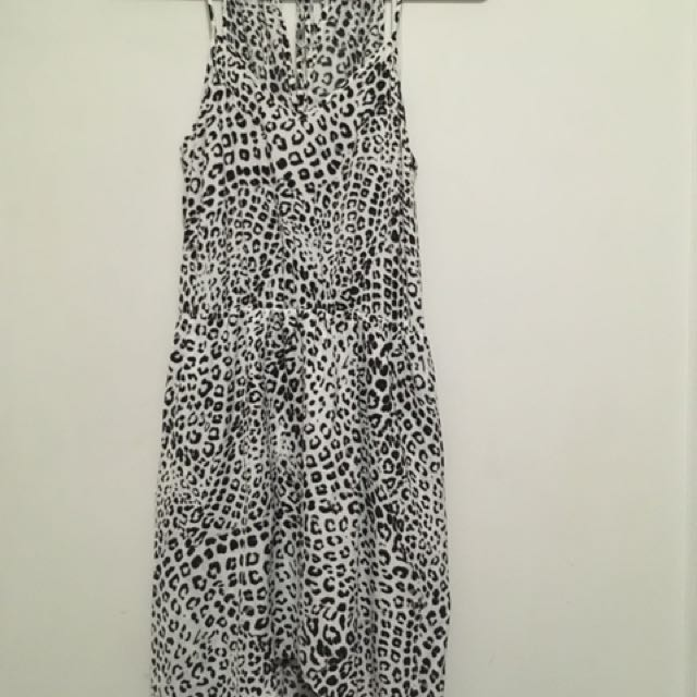 Witchery Leopard Print Dress Size 4