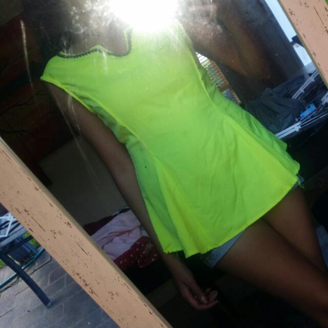 Yellow Green Size 6-8