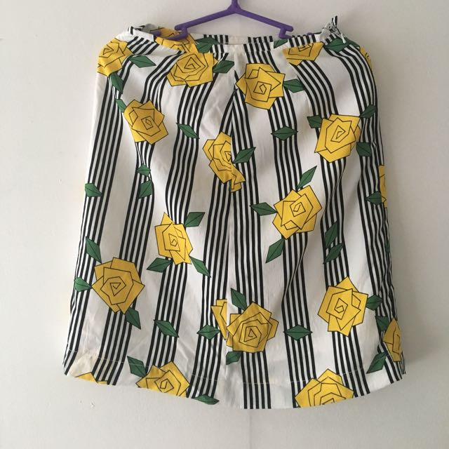 Yellow Rose Skirt