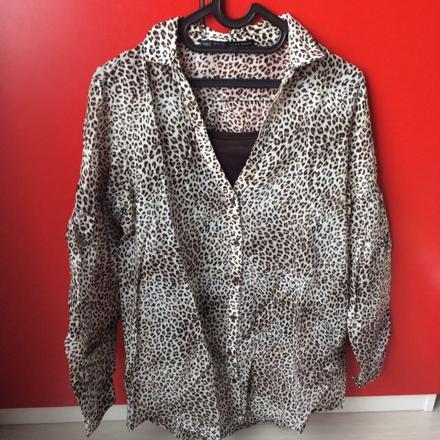 Zara Basic Leopard