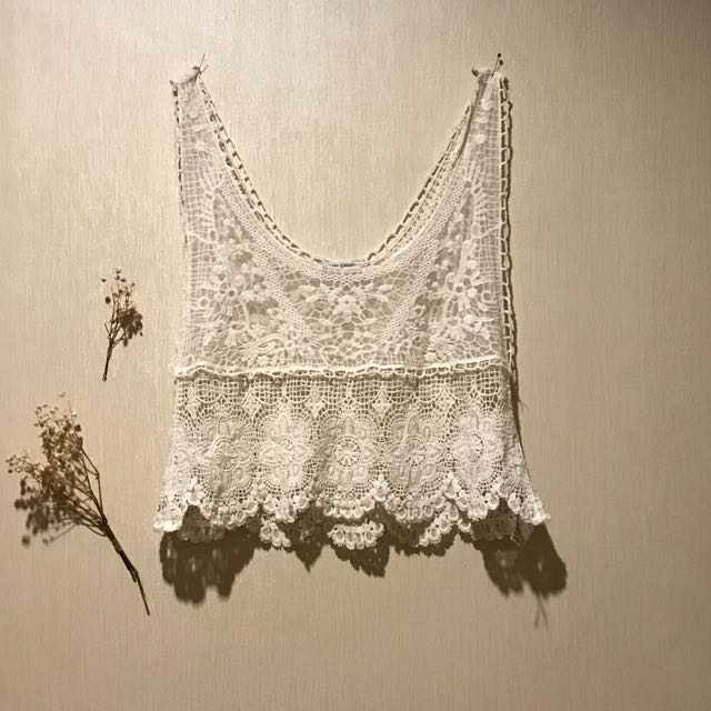 Zara Lace Crop