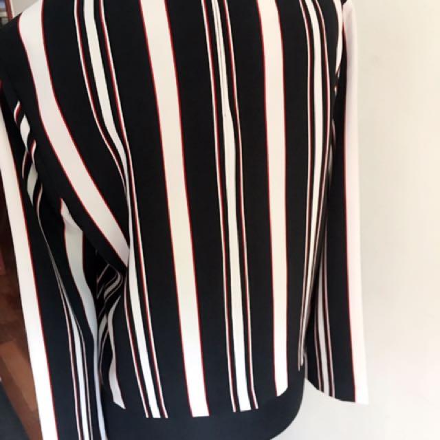 Zara Woman Striped Blouse