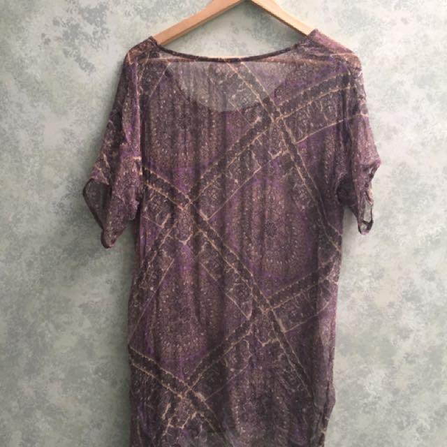 Zimmermann Paisley Top Dress