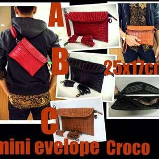 Hand Bag Mini Evelope / Tas Selempang