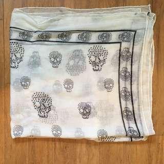 Skull Blanket Scarf