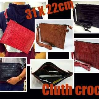 Cluth Croco / Hand Bag / Tas Selempang
