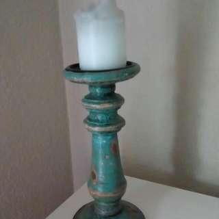 Rustic Candlestick