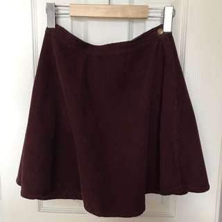 Corduroy American Appeal Circle Skirt