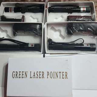 Lazer Pointer Green
