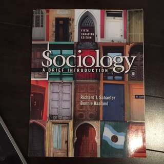 First Year Criminology/justice Studies Sociology Textbook