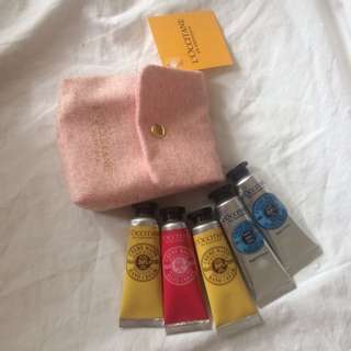 L'occitane Shea Hand Cream Lot