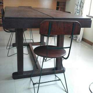 NARRA DINING TABLE AND CHAIRS