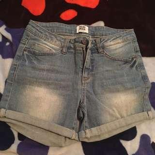 Vera Moda Lightwash Shorts BRAND NEW