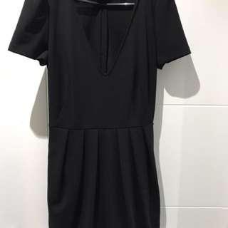 Zara V-neck Black Romper