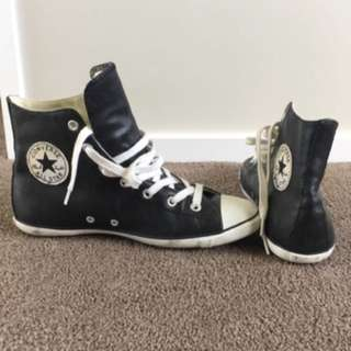 Leather Chuck Taylors