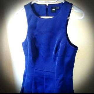 ASOS Blue Dress M
