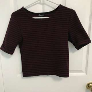 Woolen Crop Top