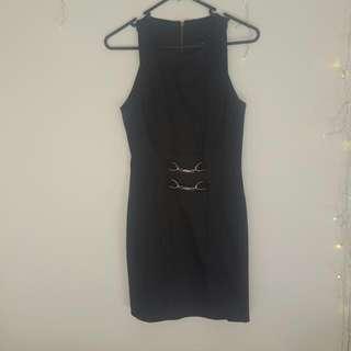 Black Cue Dress Size 6