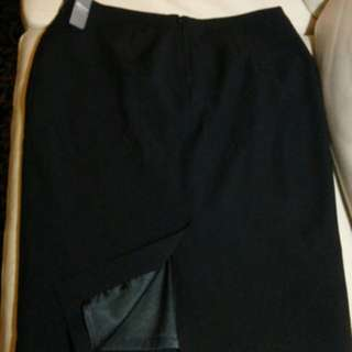 Black Work Skirt