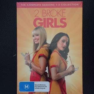 Two Broke Girls (seasons 1-3)