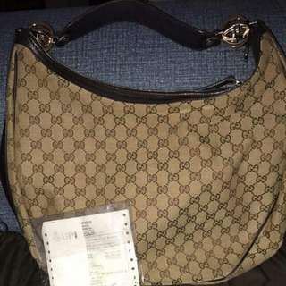 Gucci With Dustbag, Box And Receipt